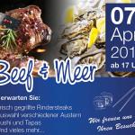 Beef & Meer Bildschirmanzeige_